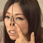 美熟女が借金返済の代償で鼻穴を嬲られる鼻穴観察・豚鼻・鼻フックイラマSM動画
